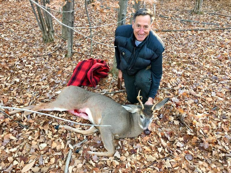 Governor Peter Shumlin with 5-point buck