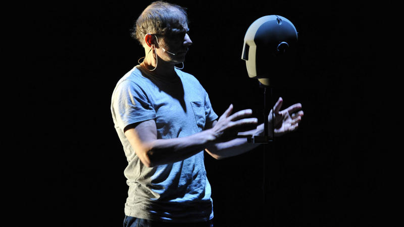 Simon McBurney in The Encounter