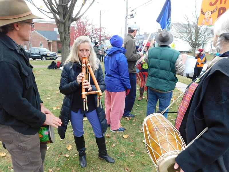 Standing Rock rally in Essex Junction, VT