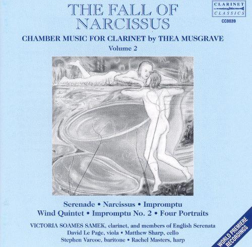Album Cover - Thea Musgrave - The Fall of Narcissus