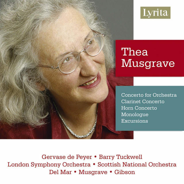 Album Cover - Thea Musgrave
