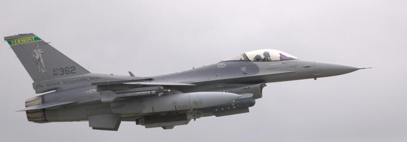 Vermont Air Guard F-16 Viper