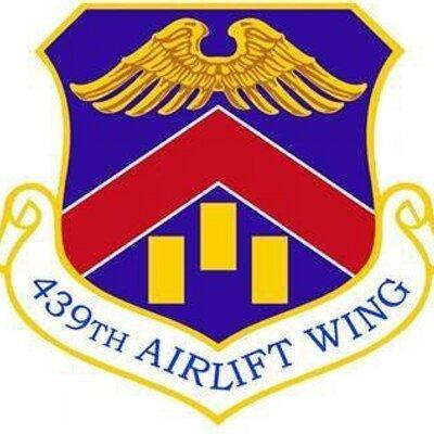 Symbol for the 439th Airlift Wing
