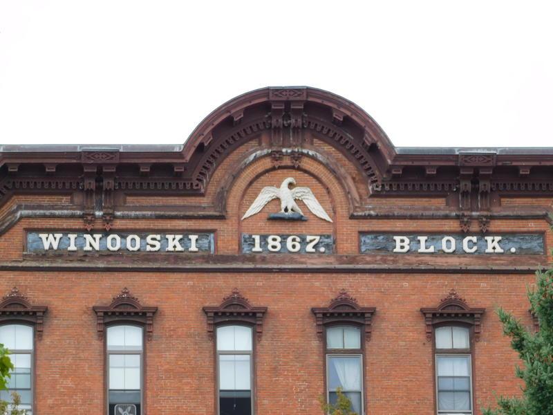 Winooski building facade