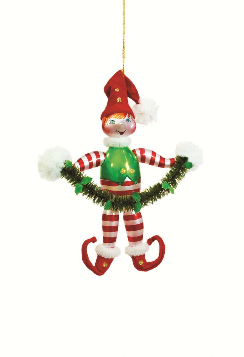 Elf Christmas ornament