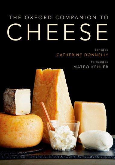 """The Oxford Companion to Cheese""  book cover"