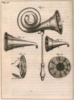 Ear Trumpet Frederick Dekkers 18th Century