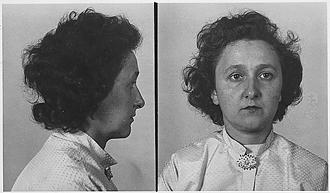Ethel Rosenberg's mugshot