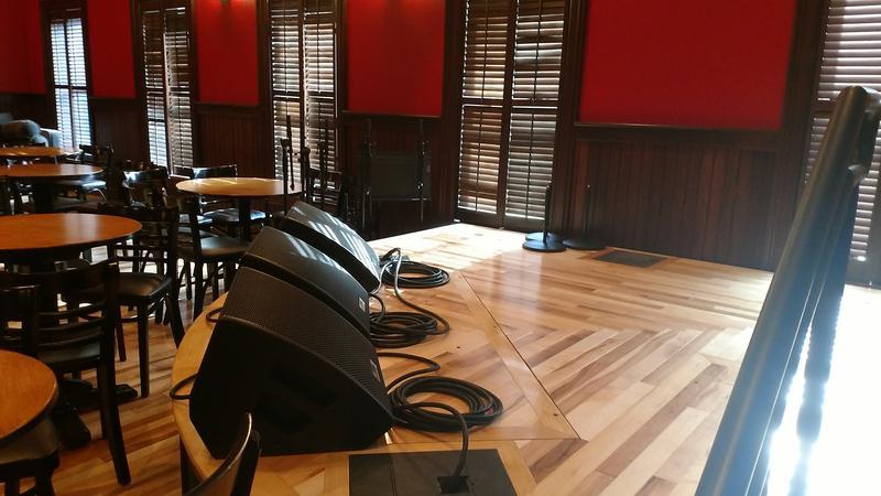 The newly renovated Caffe Lena
