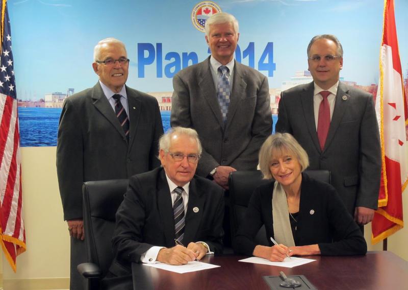 Plan 2014 signing