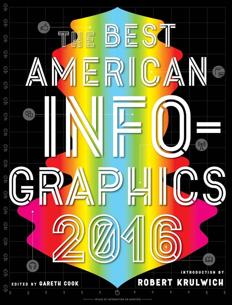 Book Cover - Best American Infographics 2016