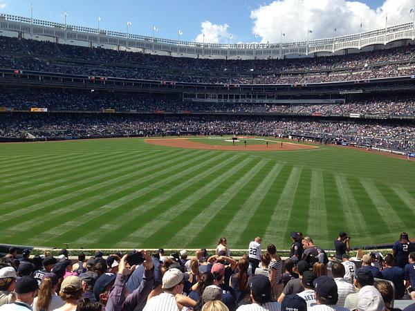 Yankee Stadium in 2014.