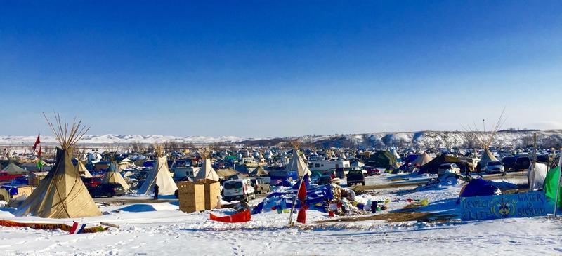Oceti Sakowin Water Protector Encampment