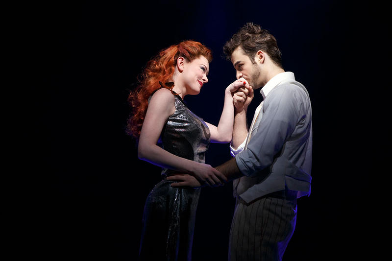 Ruby Lewis and Ryan Vona in Cirque Du Soleil's Paramour