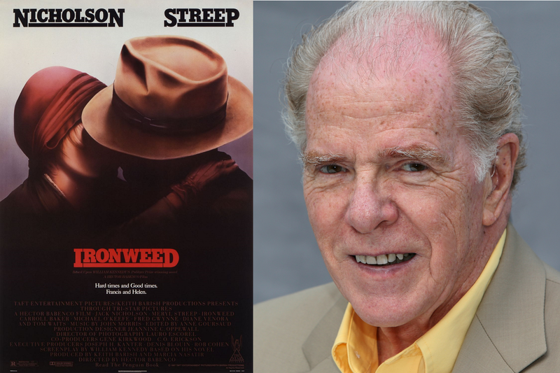 Ironweed poster and William Kennedy