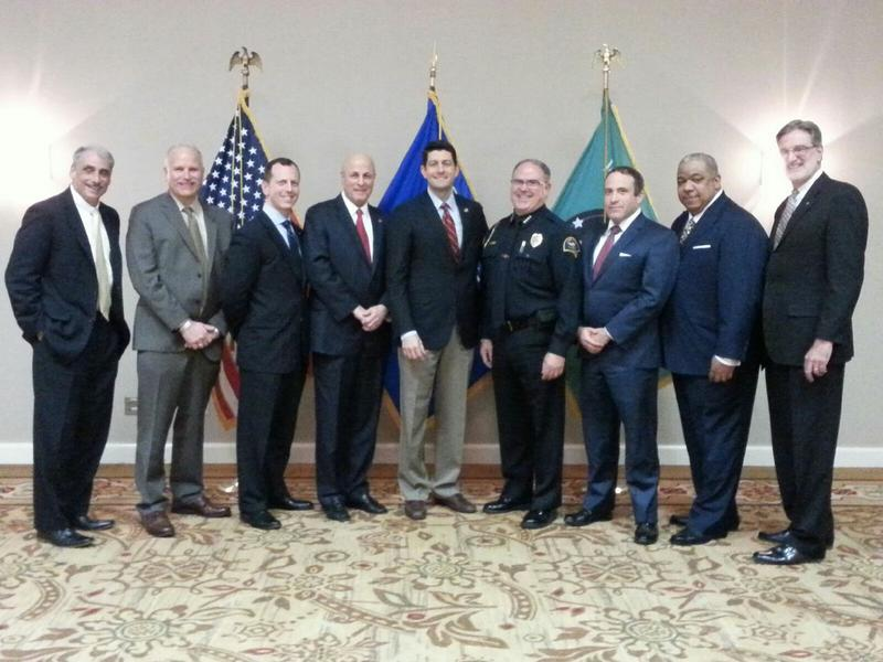 Police chiefs meet with Speaker of the House Paul Ryan to discuss work on reducing the use of force in American policing.