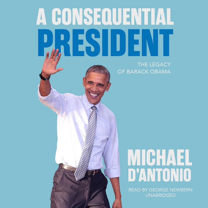 Book Cover - A Consequential President