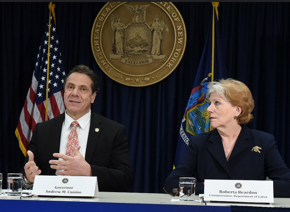 January 2, 2017, Manhattan - Governor Cuomo announced the launch of a 200-member multi-agency Minimum Wage Enforcement and Outreach Unit charged with ensuring that all workers are paid the proper minimum wage.