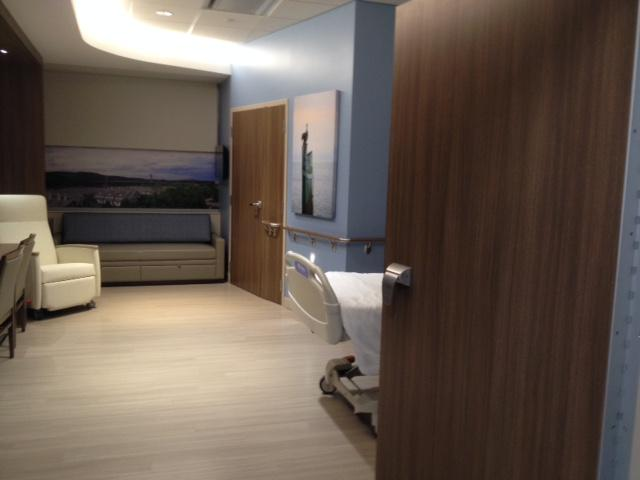 Prototype private patient room