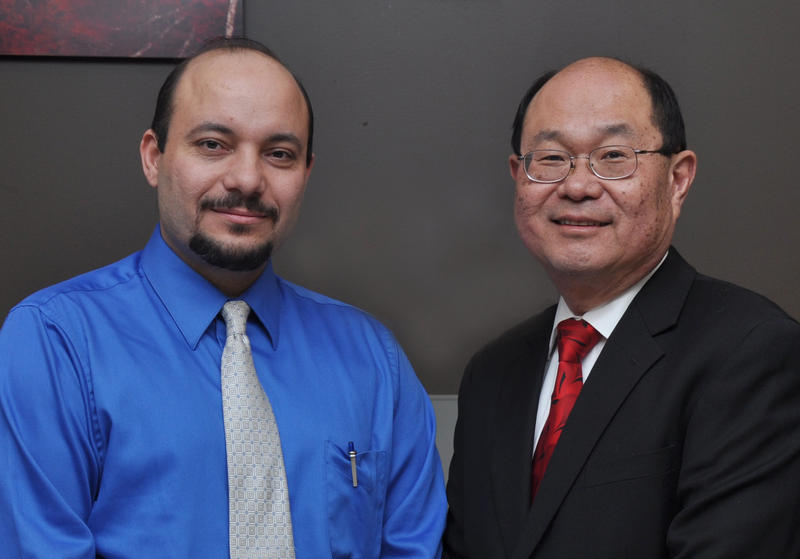 Dr. Hani Shahata and Dr. Soo Lee