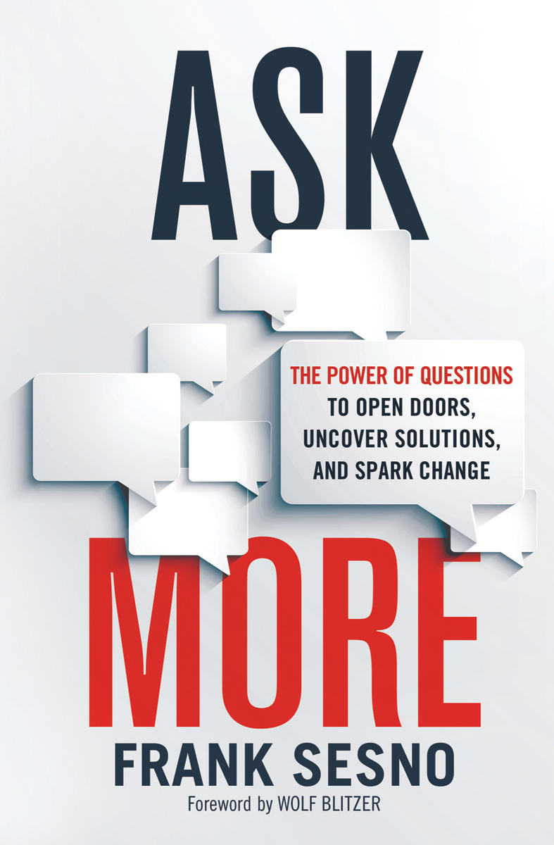 Book Cover - Ask More