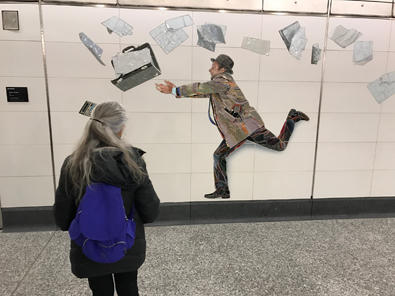 art in the new Second Avenue and 72nd Street station