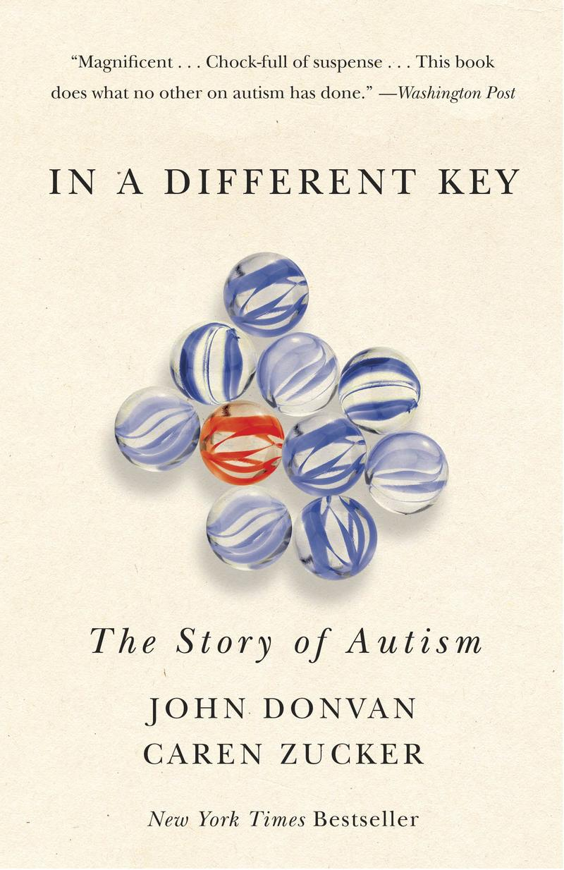 Book Cover - In a Different Key