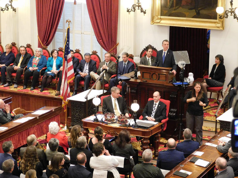 Governor Phil Scott delivers inaugural address 1-5-17