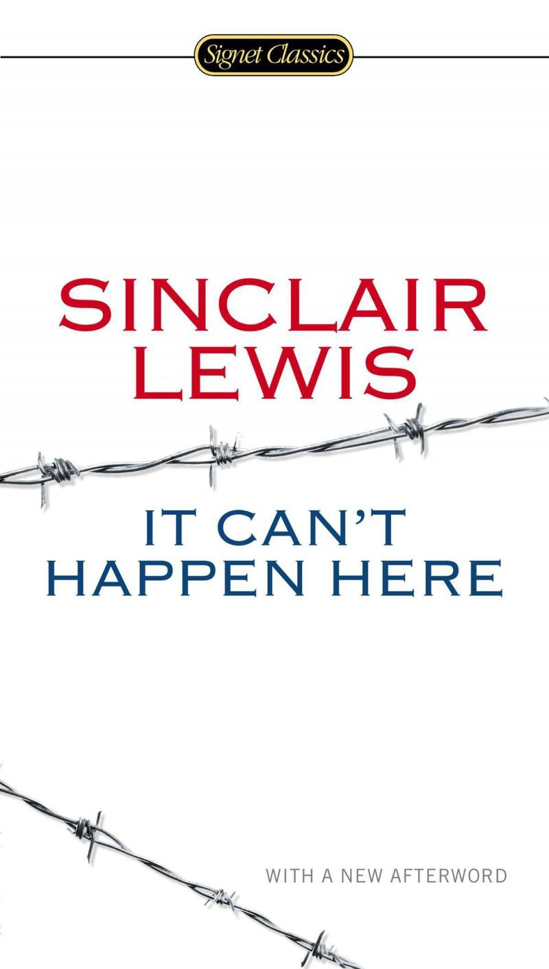Book Cover - It Can't Happen Here