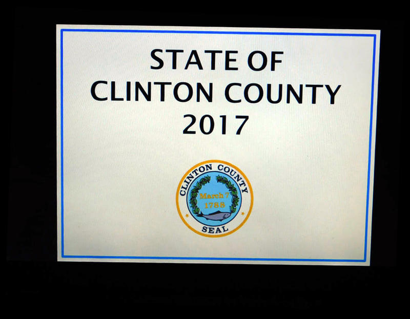 State of Clinton County placard