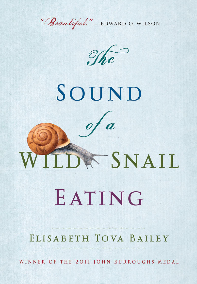 Book Cover - The Sound of a Wild Snail Eating