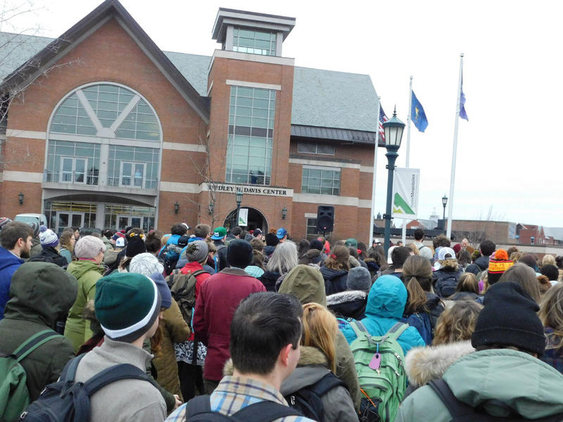 UVM students rally for the environment and social justice