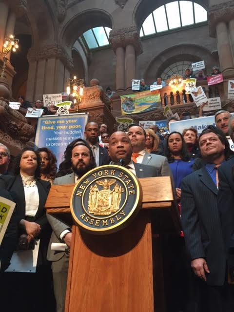 NYS Assembly Speaker Carl Heastie