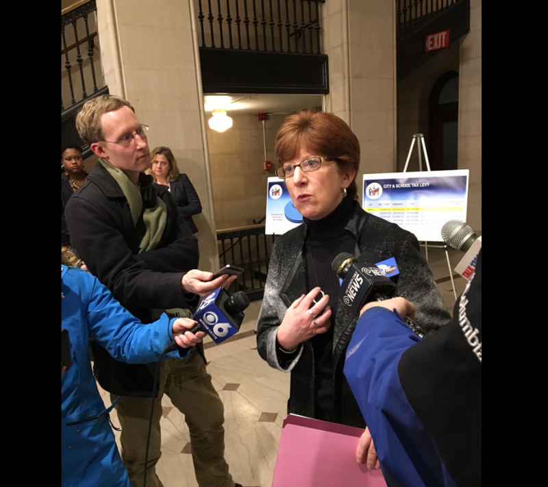"""You know, I don't ever panic. "" ~ Albany Mayor Kathy Sheehan"