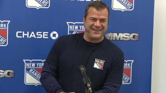 New York Rangers Coach Alain Vigneault