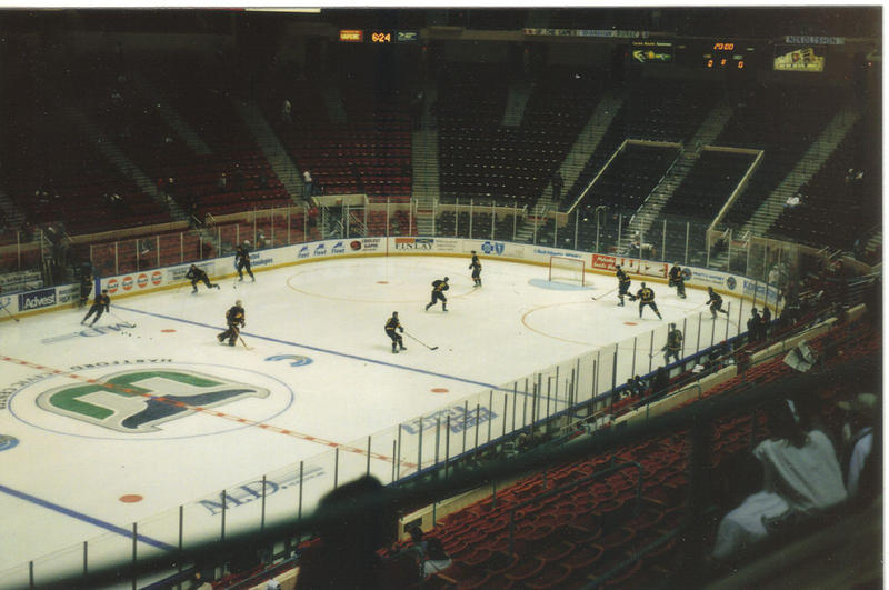 The Hartford Civic Center, now the XL Center