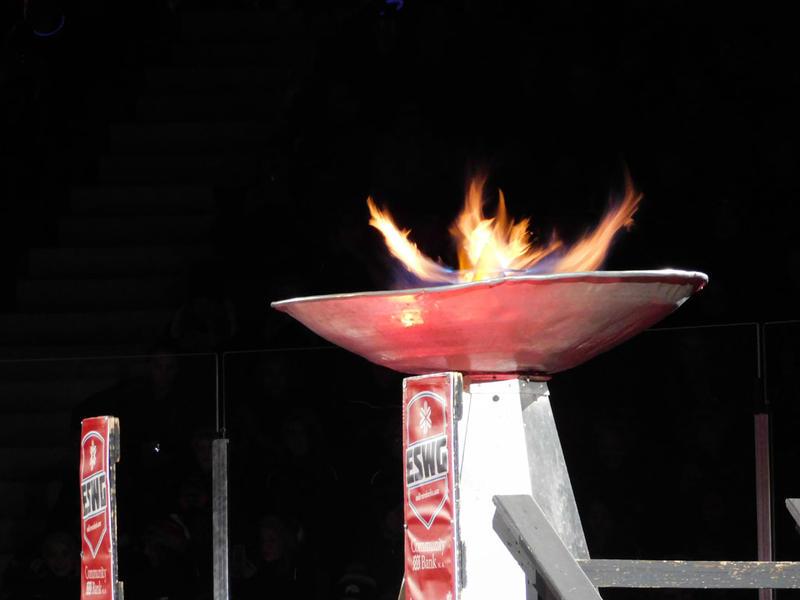 Empire State Winter Games cauldron