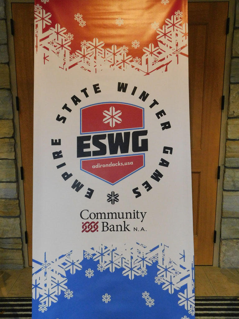 Empire State Winter Games banner