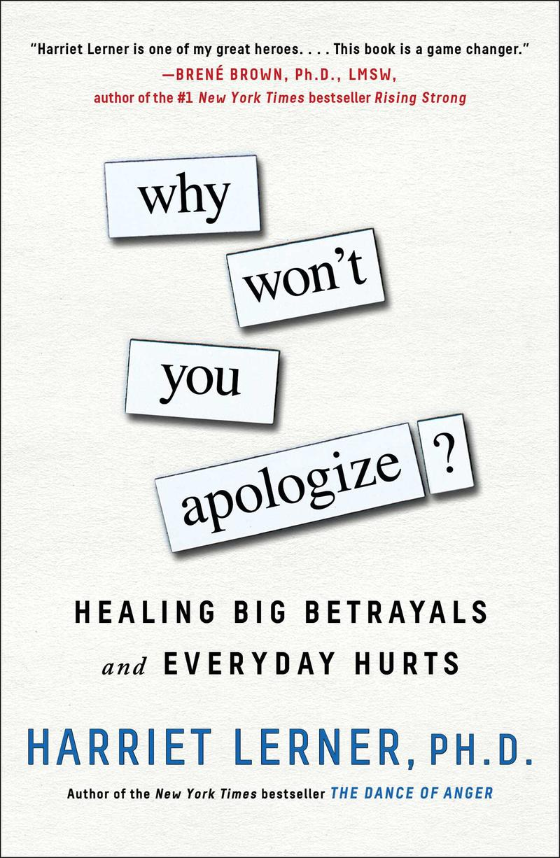 Book Cover - Why Won't You Apologize?