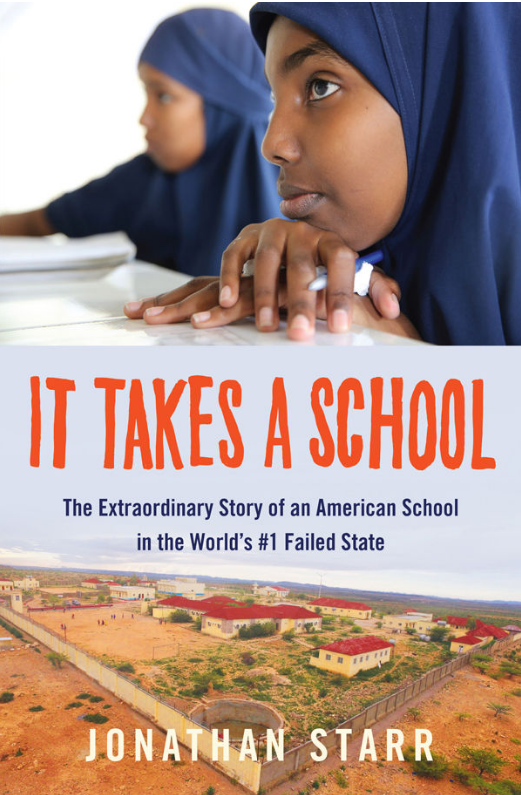 Book Cover - It Takes a School
