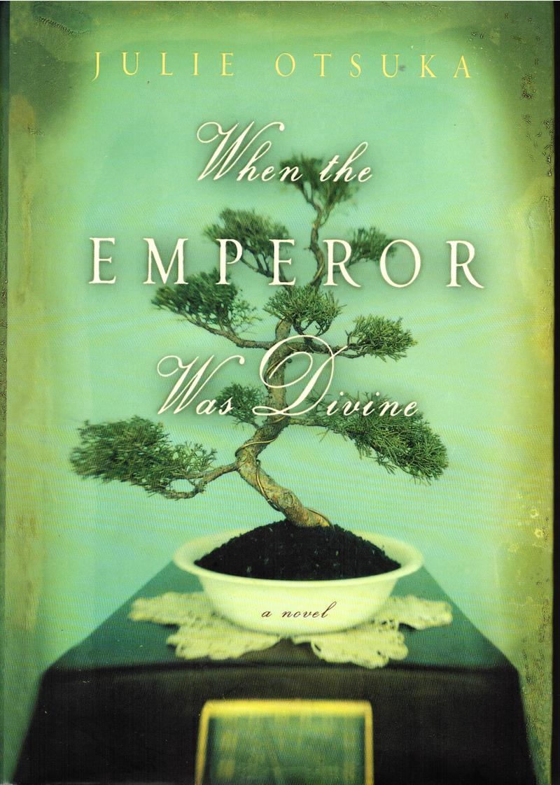 Book Cover - When The Emperor was Divine