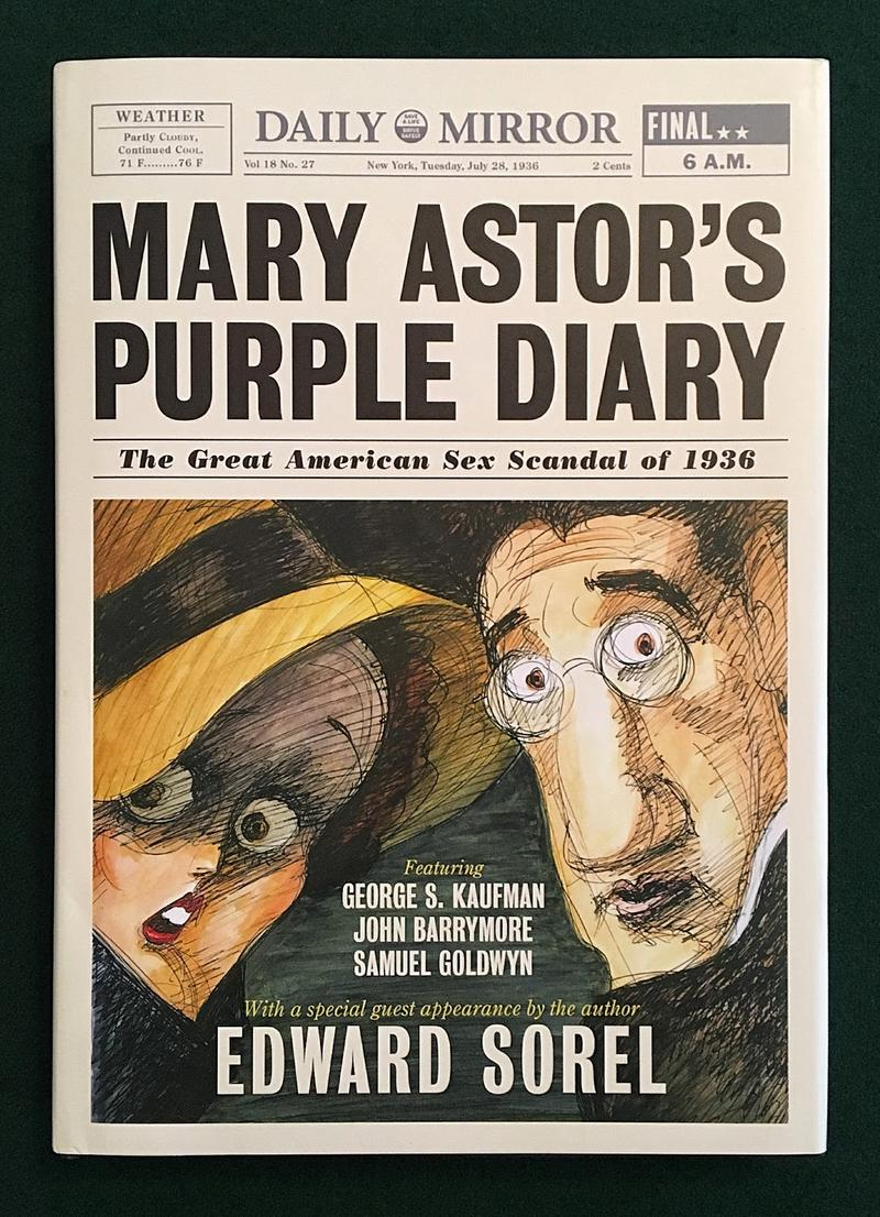 Book Cover - Mary Astor's Purple Diary