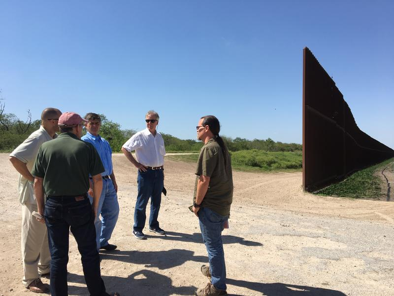 Rep. Neal visits the U.S.-Mexico border in Texas on Friday.