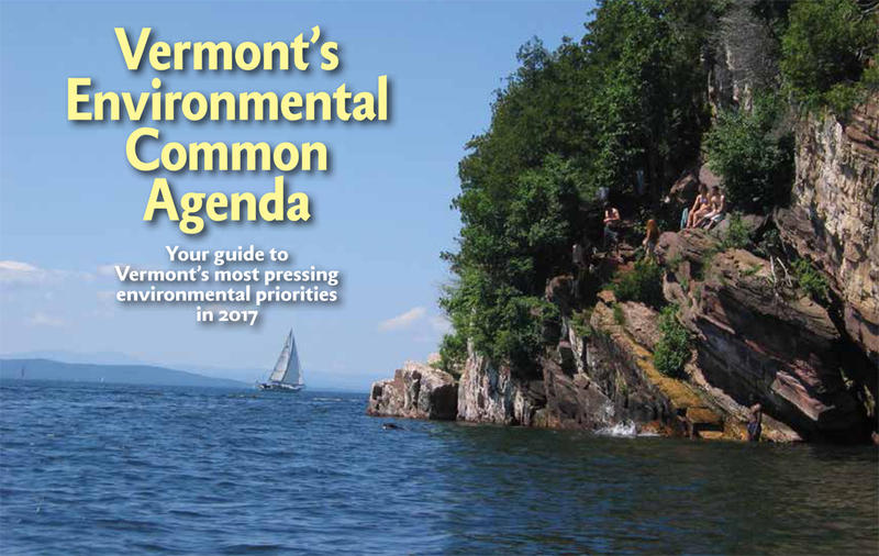 Vermont Conservation Voters Common Agenda 2017 cover page