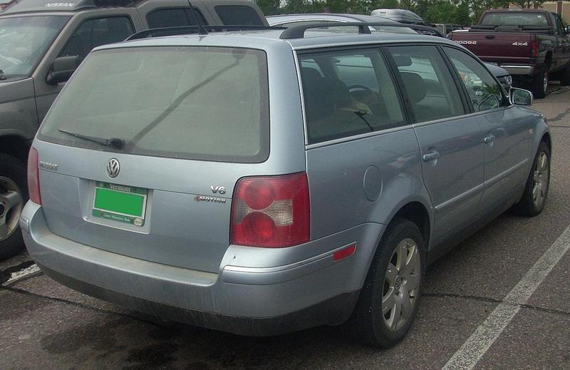VW Passat with Vermont license plates