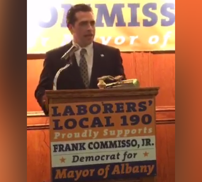 15th Ward Councilman Frank Commisso Jr. joins the short list of Albany Mayoral candidates