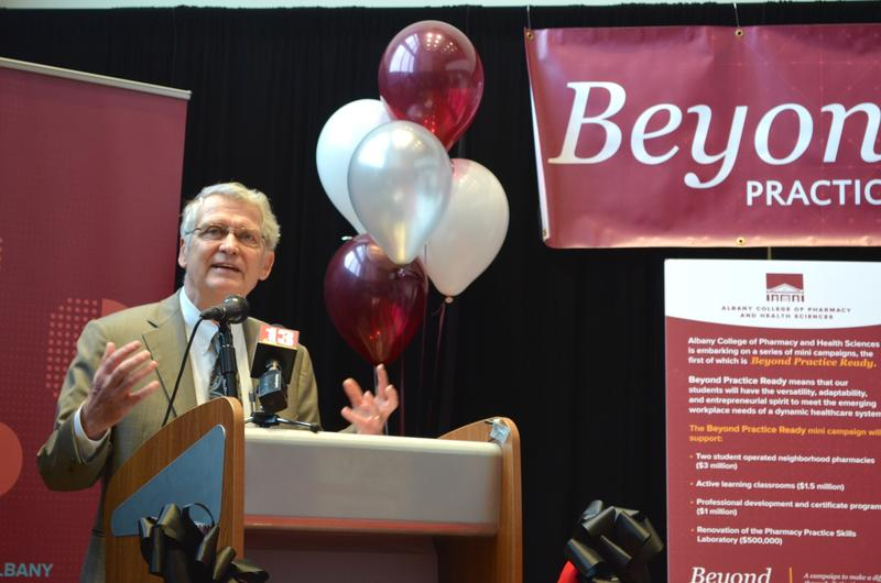 Dr. Greg Dewey, president, Albany College of Pharmacy and Health Sciences