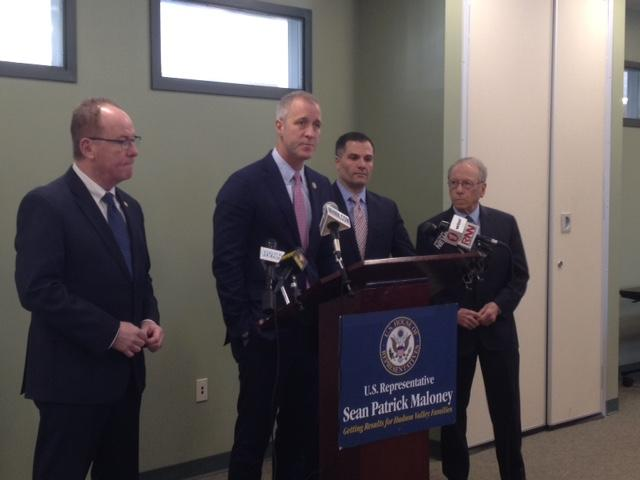 Rep Maloney Visits Dutchess To Discuss Bill On Drug Diversion