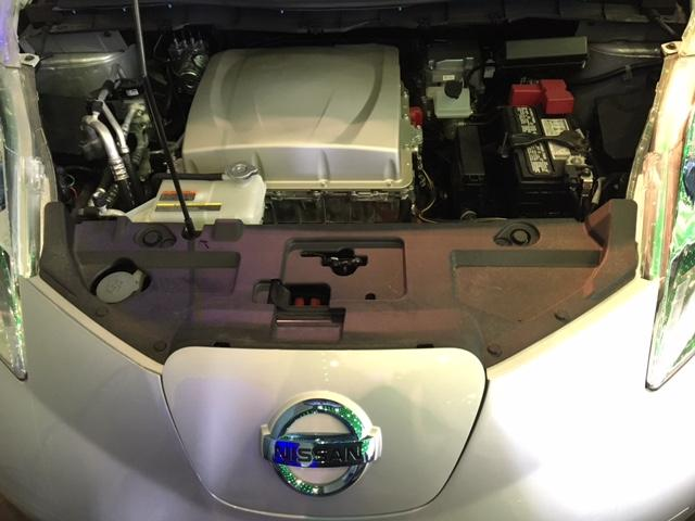 A Nissan electric engine