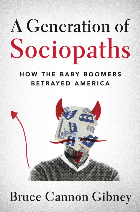 Book Cover - A Generation of Sociopaths